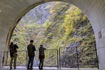 雨でも紅葉を楽しめる♪ 清津峡(新潟県・湯沢付近)