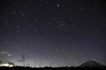 ふたご座流星群、道の駅 朝霧高原で見てきました~