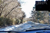 富士山スカイライン凍結情報(2014年12月23日)
