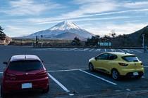 精進湖 ~初日の出でも安心の、駐車場充実度は富士五湖No.1!?~